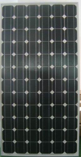 硅晶体太阳能电池组件结构图示