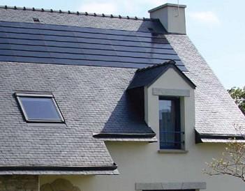 3晶体硅太阳能屋顶瓦实例一