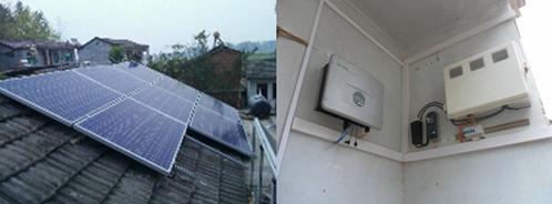 太阳能发电站系统容量为2kwp