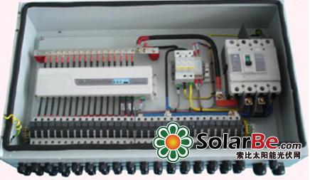 直流配电柜的电路拓扑≈功率等级更大的汇流箱