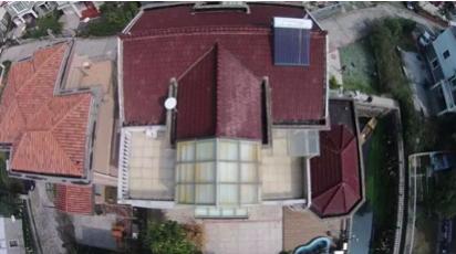 蠡景花园家用屋顶光伏电站项目竣工