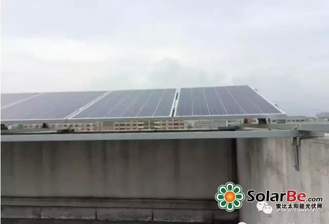 【干货】水泥屋顶分布式光伏发电项目设计和安装图解