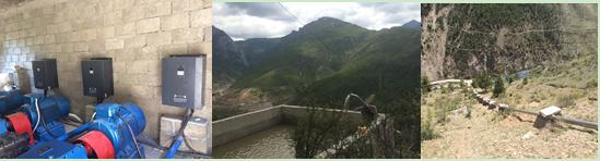 中国最大的太阳能水泵体系正式建成投入使用