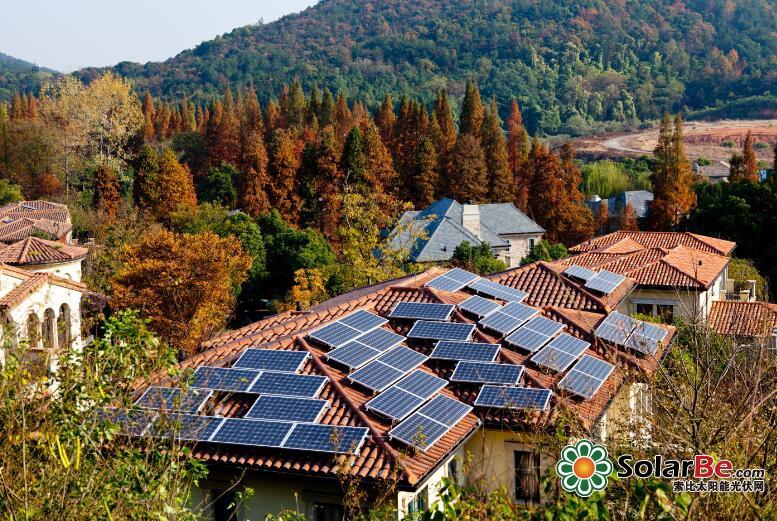 8千瓦别墅屋顶光伏项目