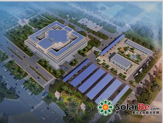 巴基斯坦国会大厦的光伏发电