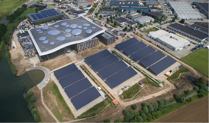 荷兰最大停车场光伏发电项目顺利并网