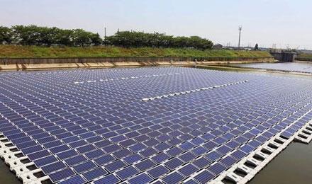 日本第一个水上漂浮光伏发电项目介绍