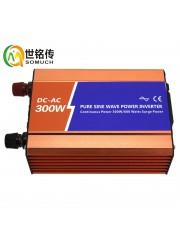 300W高频纯正弦波逆变器12V转220V车载电源转换器