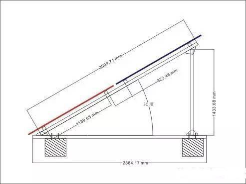 光伏板地线安装接线图