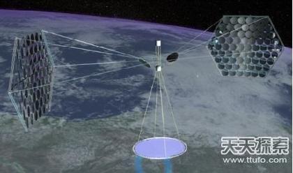 大型相控阵太阳能发电站卫星-到2025年轨道太阳能发电站开始运行