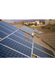 泰联民居别墅屋顶10kw分布式光伏发电系统