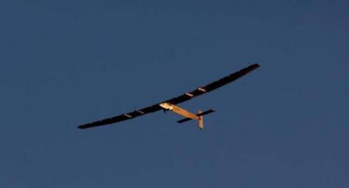 汉能太阳能飞机 天空上的新宠儿