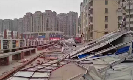 农村光伏电站遭暴风袭击变废墟,用户该如何去防止悲剧再次发生