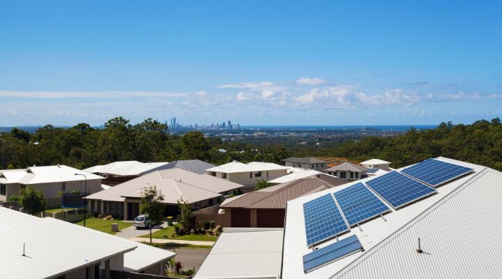 澳大利亚屋顶太阳能电池板安装量全球分布最广泛!使用率达到15%图片