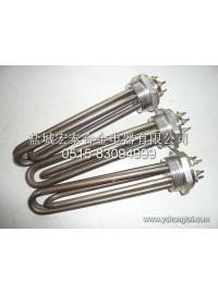 供应不锈钢螺牙加热管-- 盐城宏泰合金电器有限公司