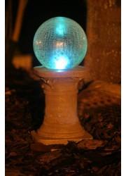 太阳能裂纹球灯