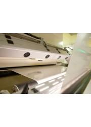 BOPET聚酯薄膜表面缺陷在线自动化机器视觉光电智能检测系统设备 双向拉伸聚酯薄膜材料展览会
