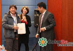 Solarbe2014年光伏电池组件创新技术论坛台虹
