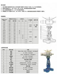 高压截止阀、截止阀型号-- 自贡东能电站阀门有限公司