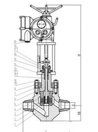 二级給水调节阀、锅炉调节阀-- 自贡东能电站阀门有限公司