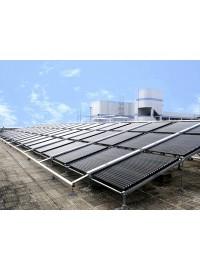 找口碑好的太阳能热水工程就到恒旭新能源:临夏宾馆太阳能热水工程-- 甘肃恒旭新能源科技有限公司