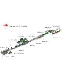 晶硅组件生产线全自动化方案报价、厂家-- 武汉三工光电设备制造有限公司营销3部