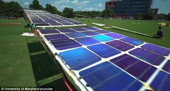 太阳能直升机