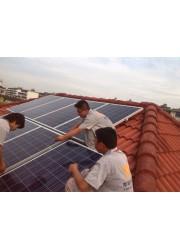 上海太阳能光伏发电家用3KW系统设计安装