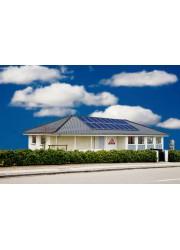 中国英利单晶275w太阳能板家庭并网分布式电站供应