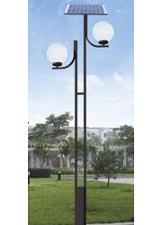新型太阳能路灯实用又安全