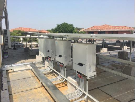 江苏昆山100KW工业屋顶光伏示范项目解析