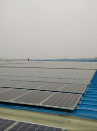 太阳能光伏支架/光伏扶贫专用支架/彩钢瓦光伏支架/安徽支架-- 安徽维航光伏新能源有限公司