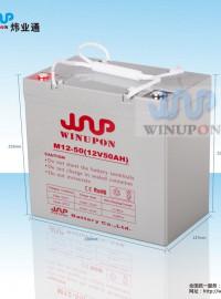 winupon 太阳能山洪地质灾害预警平台蓄电池-- 深圳市炜业通科技有限公司