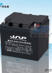 winupon 太阳能海绵城市在线监测系统蓄电池