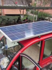徐州太阳能电池板电动车,徐州光伏板电动车48V-- 徐州光伏发电设备有限公司