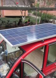 徐州太阳能电池板电动车,徐州光伏板电动车48V
