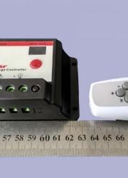 遥控型10A-12V-24V太阳能路灯控制器