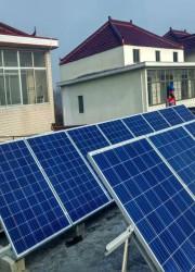 5000W居民家用并网发电系统
