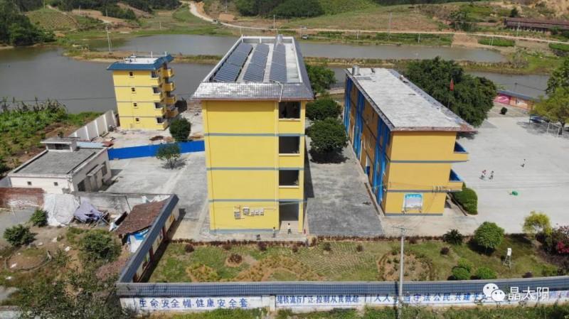 光伏风吹进校园!学校建光伏电站 一年收益过百万!