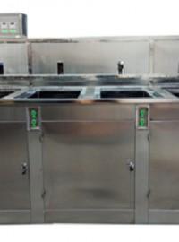 四槽抛动式光学蓝玻璃超声波清洗机-- 无锡雷士超声波设备有限公司