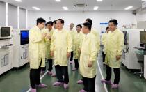 浙江省委书记车俊莅临宁波锦浪科技指导工作