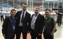 点燃冰雪激情 科华恒盛圆满完成中俄青少年冰球友谊赛保障任务