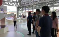 陕西省渭南市人大代表团一行到访无锡尚德
