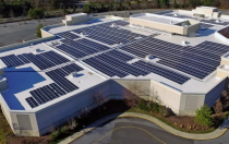 聚高新能源为南方电网7.1MW屋顶太阳能电站提供光伏支架