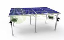 聚高新能源为越南农业光伏项目提供500KW光伏支架