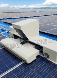 光伏板清洁方式,郑州德瑞智能供应光伏板清洁机器人