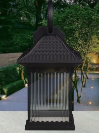 庭院阳台客厅过道别墅中式壁灯欧式复古美式现代简约户外防水壁灯