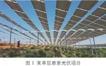 保证成本优势:大跨度预应力索桁架光伏支承结构的设计