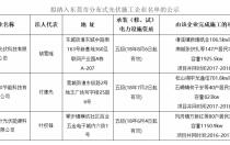 广东省东莞市公示分布式光伏项目施工企业名单