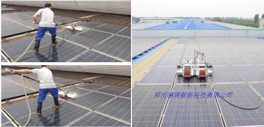太陽能光伏板如何清洗,光伏板清掃方式 公司動態-鄭州德瑞智能科技有限公司